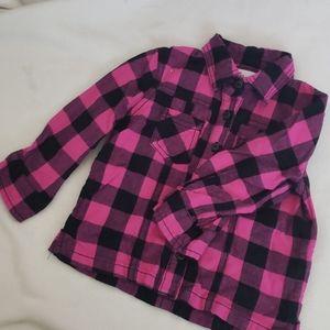 Girls Flannel